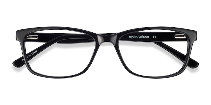 Black Marion -  Acetate Eyeglasses