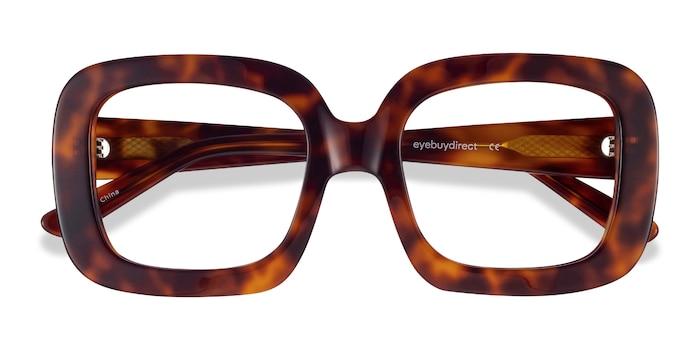 Tortoise Gloria -  Fashion Acetate Eyeglasses