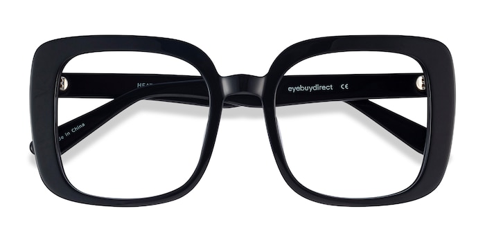 Black Heather -  Vintage Acetate Eyeglasses