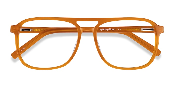 Mellow Yellow Russell -  Vintage Acetate Eyeglasses