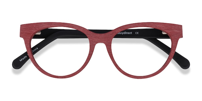 Berry Red Paula -  Acetate Eyeglasses