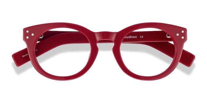 Burgundy Morla -  Colorful Acetate Eyeglasses