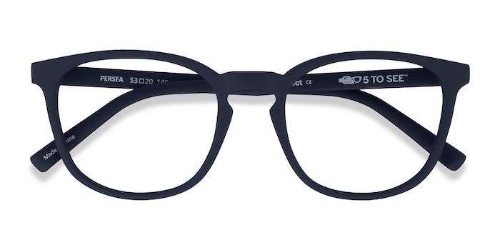 Abyssal Blue Persea -  Plastic Eyeglasses