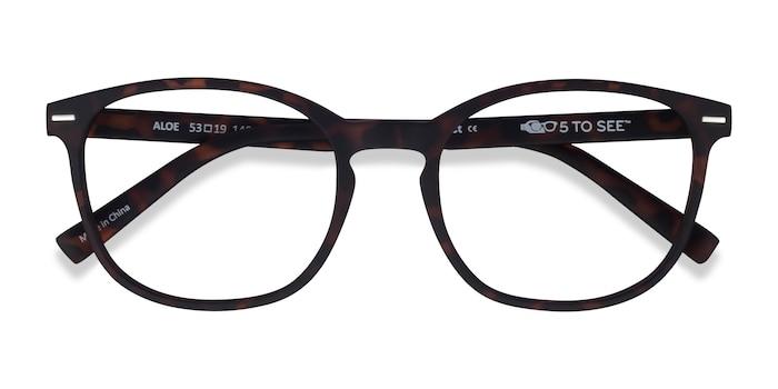 Warm Tortoise Aloe -  Plastic Eyeglasses