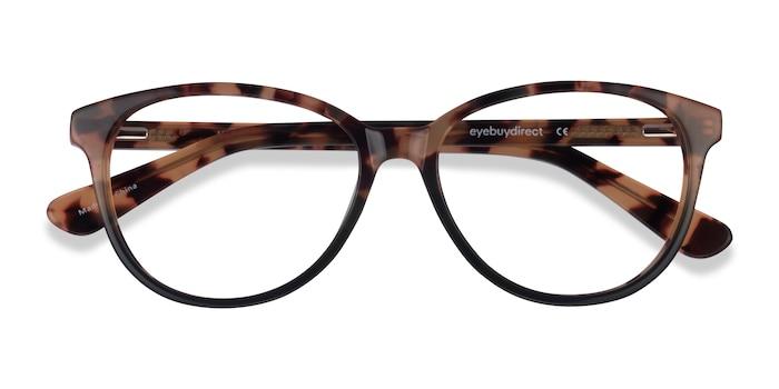 Tortoise Green Hepburn -  Acetate Eyeglasses