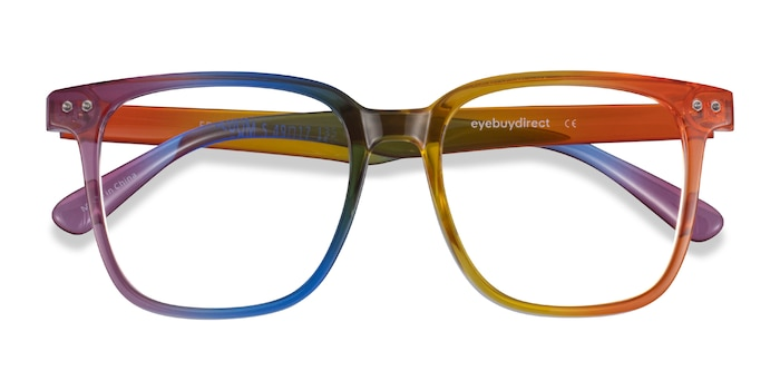 Rainbow Freedom -  Plastic Eyeglasses