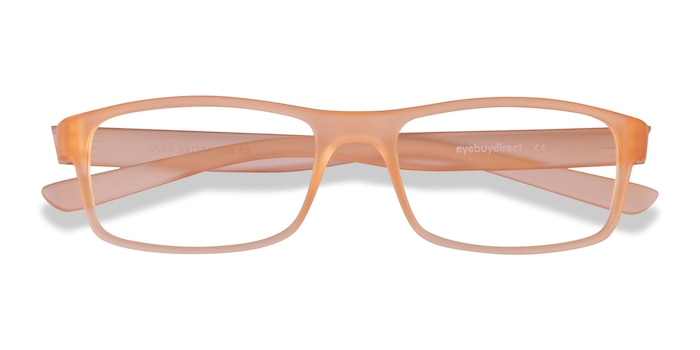 Light Orange Over -  Plastique Lunette de Vue
