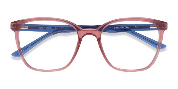 Clear Pink & Clear Blue Identical -  Geek Plastique Lunette de Vue