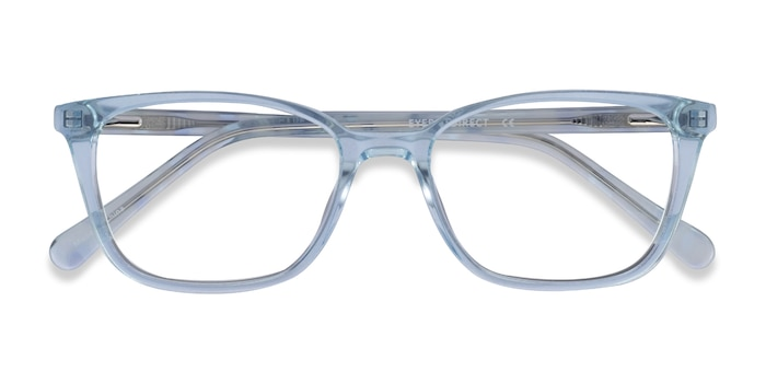 Clear Blue Cheesecake -  Acetate Eyeglasses