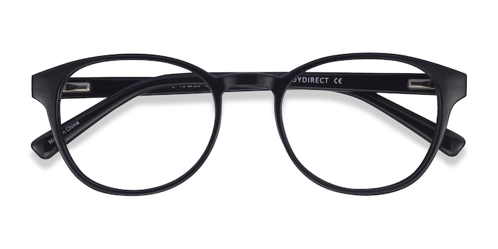 Black Cool -  Plastic Eyeglasses