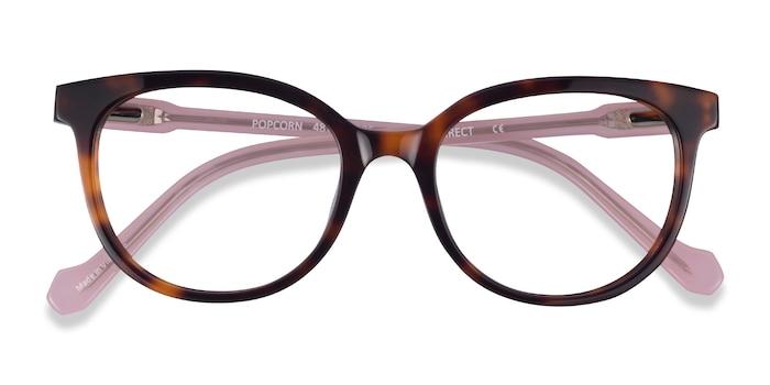 Tortoise Pink Popcorn -  Acetate Eyeglasses