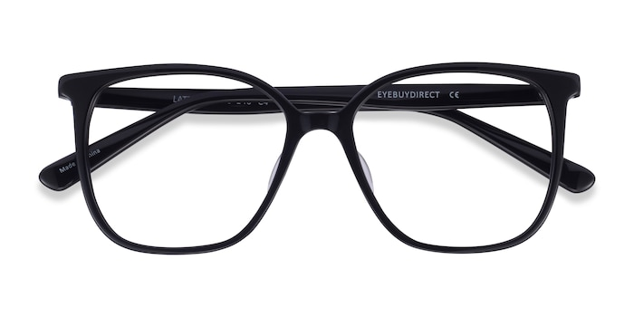 Black Latte -  Acetate Eyeglasses