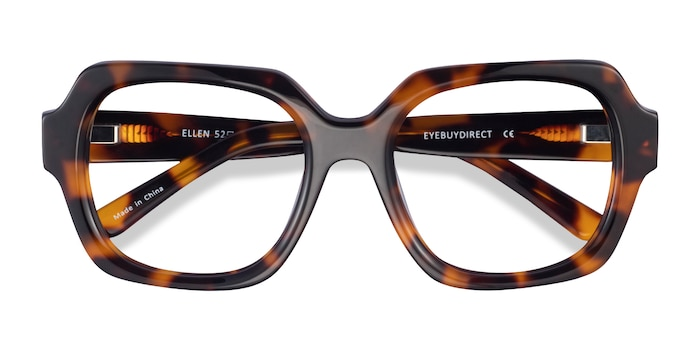 Tortoise Ellen -  Acetate Eyeglasses