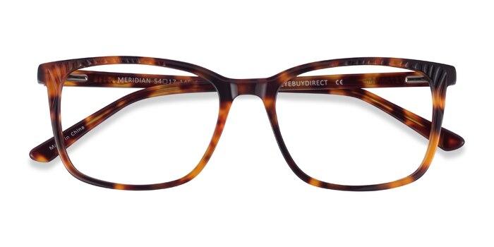 Tortoise Meridian -  Acetate Eyeglasses