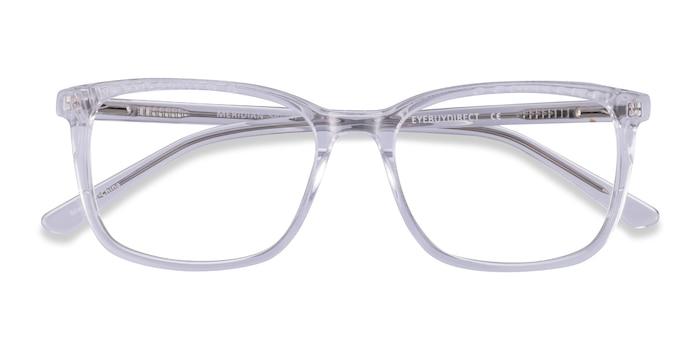 Clear Meridian -  Acetate Eyeglasses