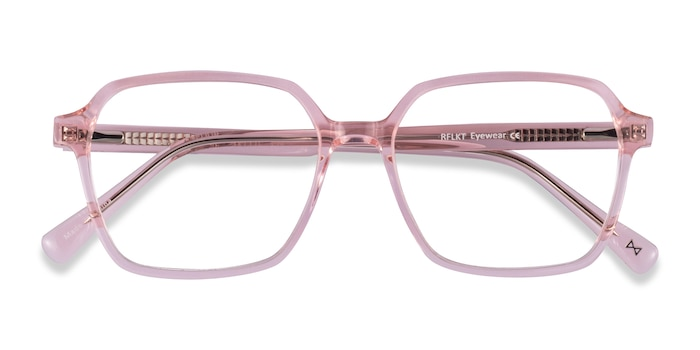 Clear Pink Bucolic -  Fashion Acetate Eyeglasses