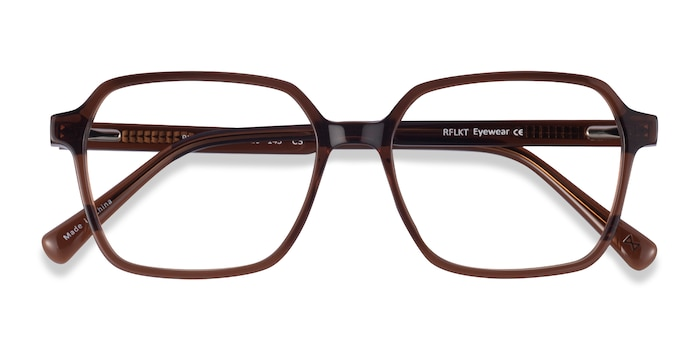 Clear Brown Bucolic -  Fashion Acetate Eyeglasses