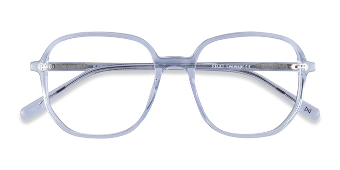 Clear Blue Natural -  Fashion Acetate Eyeglasses