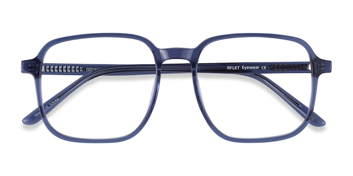 Clear Blue Ozone -  Fashion Acetate Eyeglasses