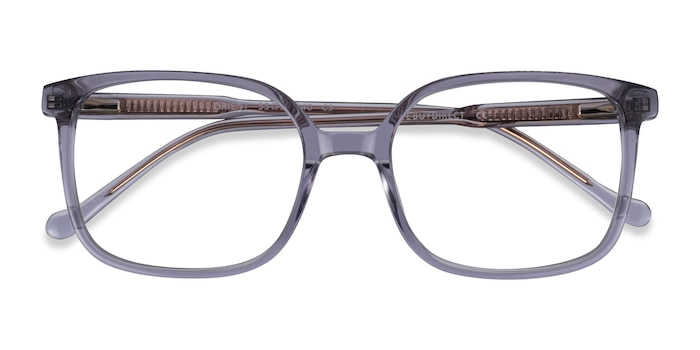 Clear Gray Orient -  Acetate Eyeglasses