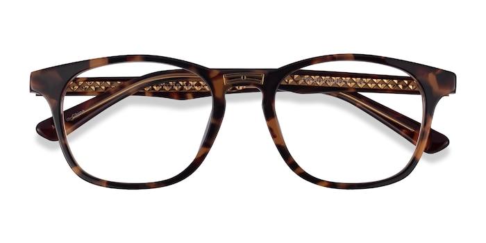 Tortoise Gold Casting -  Acetate Eyeglasses