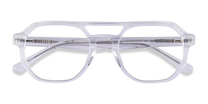 Clear Stratum -  Acetate Eyeglasses