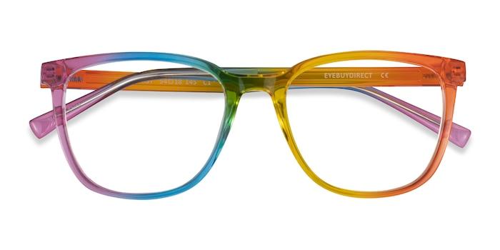 Rainbow Optimist -  Plastic Eyeglasses