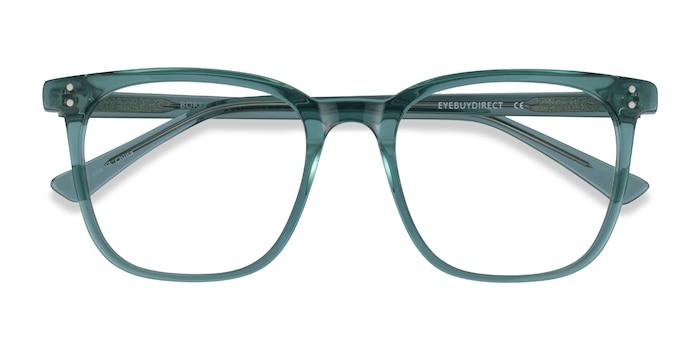 Clear Green Boreal -  Acetate Eyeglasses