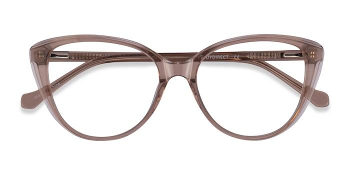Clear Brown Destin -  Acetate Eyeglasses