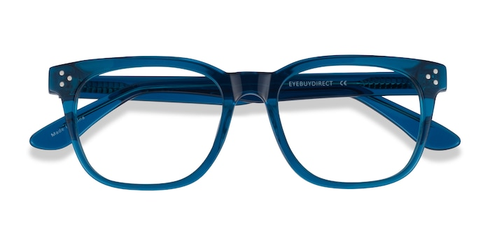 Clear Blue Adriatic -  Acetate Eyeglasses