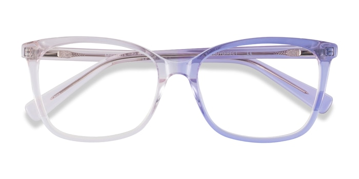 Clear Pink Michelle -  Acetate Eyeglasses