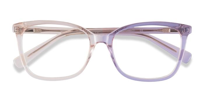Clear Brown Michelle -  Acetate Eyeglasses