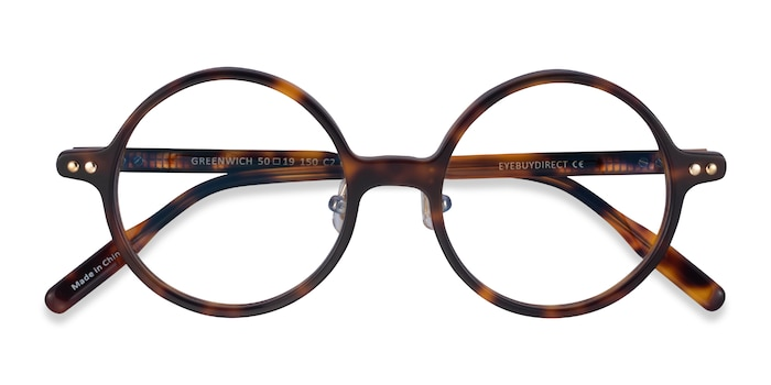 Tortoise Greenwich -  Acetate Eyeglasses