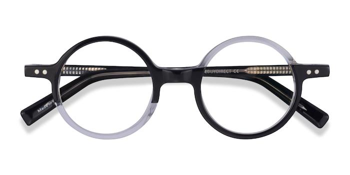 Black Clear Wilcox -  Acetate Eyeglasses