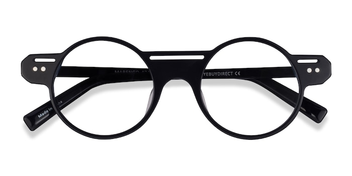 Black Marengo -  Acetate Eyeglasses