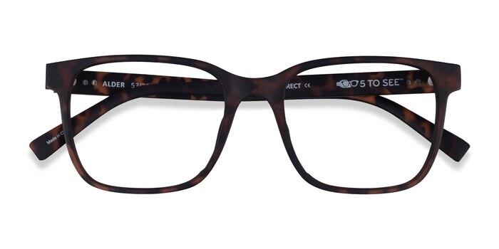 Matte Tortoise Alder -  Plastic Eyeglasses