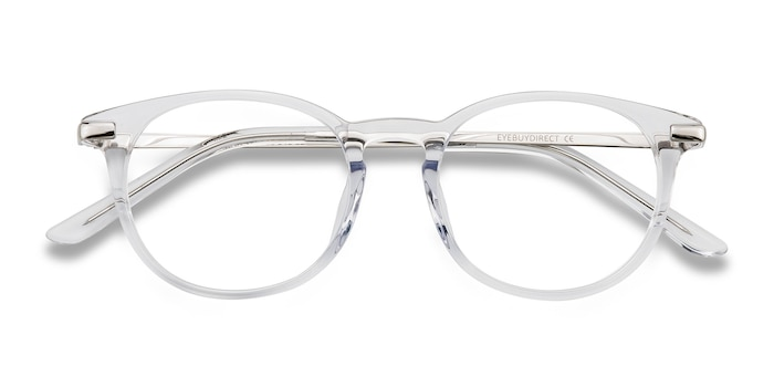 Translucent Mood -  Metal Eyeglasses
