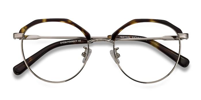 Tortoise Festival -  Vintage Metal Eyeglasses