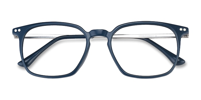 Teal Ghostwriter -  Lightweight Metal Eyeglasses