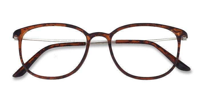 Matte Tortoise Strike -  Plastic Eyeglasses