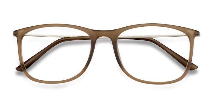 Matte Cinnamon Hurricane -  Lightweight Metal Eyeglasses