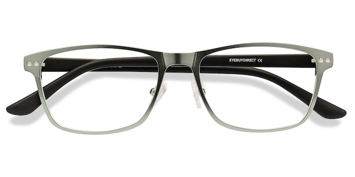 Light Green Comity -  Metal Eyeglasses