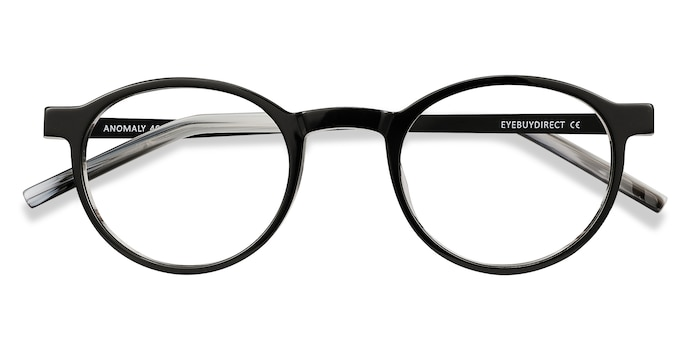 Black Anomaly -  Acetate Eyeglasses