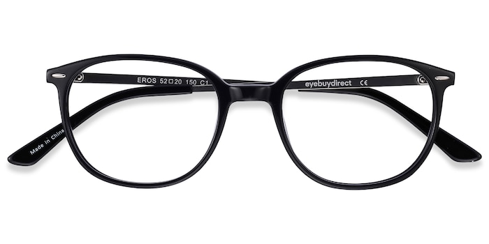 Black Eros -  Metal Eyeglasses