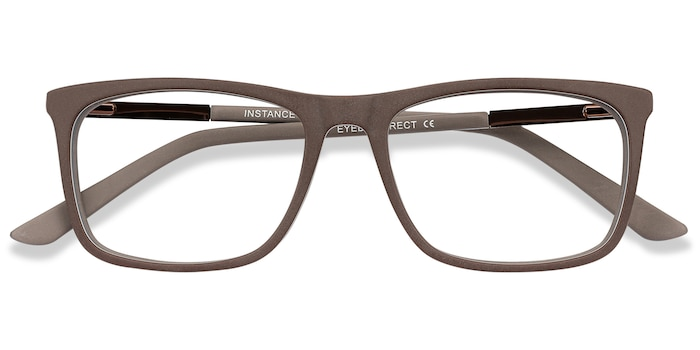 Brown Instance -  Lightweight Metal Eyeglasses