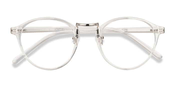 Clear Chillax -  Lightweight Plastic Eyeglasses