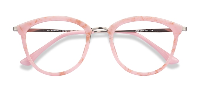 Pink Lightworks -  Colorful Metal Eyeglasses