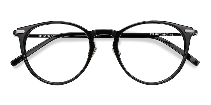 Black Iris -  Acetate Eyeglasses