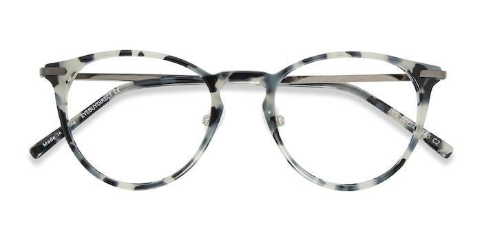 Tortoise Iris -  Metal Eyeglasses
