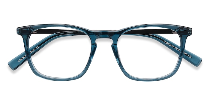 Green Tuesday -  Colorful Metal Eyeglasses